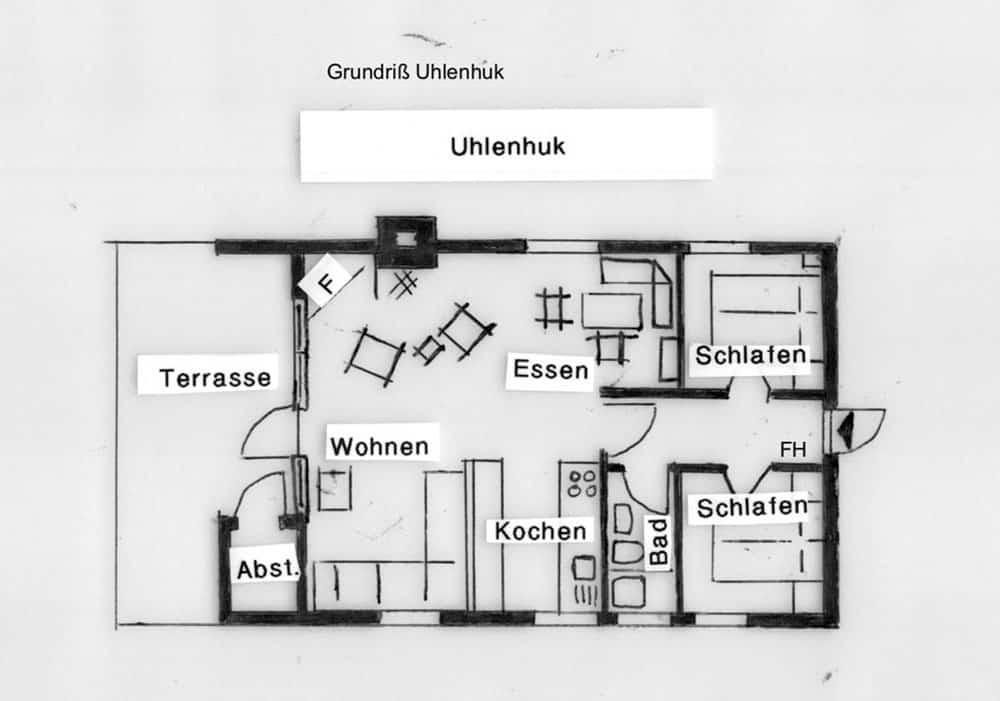 Grundriss Uhlenhuk